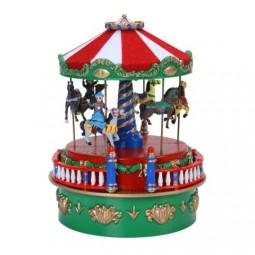 Spieluhr Karussell aus Kunststoff