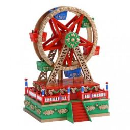 Spieluhr Riesenrad aus Kunststoff