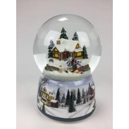 Schneekugel Weihnachtspost