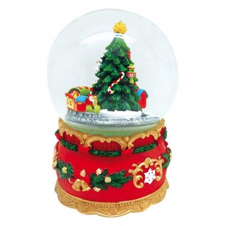 Spieluhr Kugel Weihnachtsbaum Mit Zug