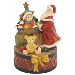 Santa mit Kind
