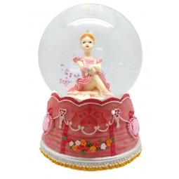 Kugel sitzende Ballerina 80 mm
