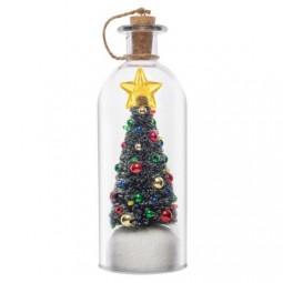 Weihnachtsflasche 20 cm