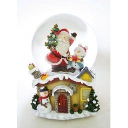 Kugel Santa, Baum & Schneemann