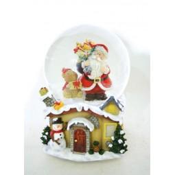 Kugel Santa mit Hamster