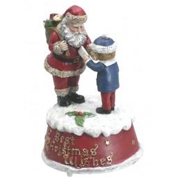 Santa mit Junge