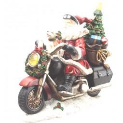 Santa Motorrad