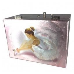 Spieluhr Schmuckdose Ballerina
