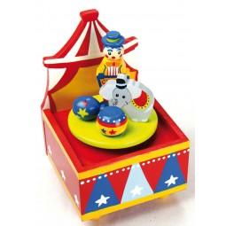 Spieluhr Zirkus aus Holz