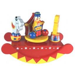 Spieluhr Zirkus Wippe aus Holz