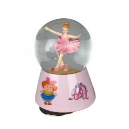 Spieluhr Glitzerkugel Ballerina