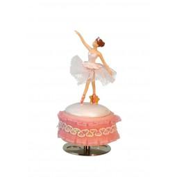 Ballerina weißes Kleid