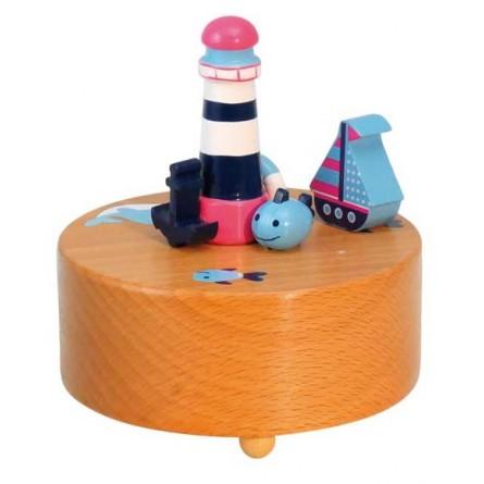 Leuchtturm / Boot