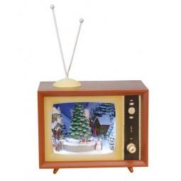 Fernseher Schnee Szene