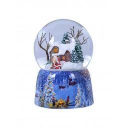 Schneekugel Weihnachtshaus