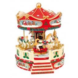 Weihnachtliches Karussell