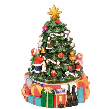 Christmas Tree With Presents.Small Christmas Tree With Presents