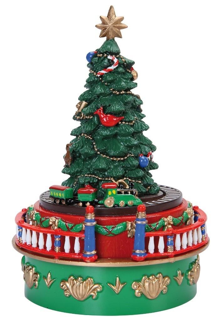 Tannenbaum Kunststoff.Spieluhr Weihnachtsbaum Aus Kunststoff
