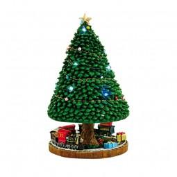 Beleuchteter Tannenbaum