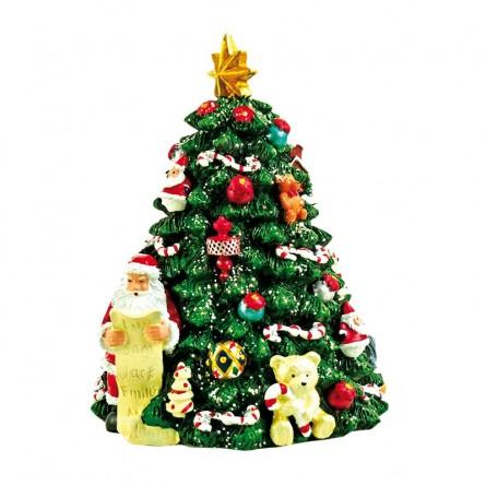 Tannenbaum mit Santa
