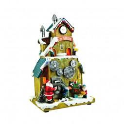 Santa´s beleuchtete Spielzeugfabrik