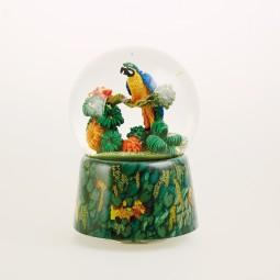 Spieluhr Papagei