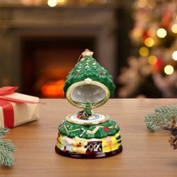 Porzellan Spieluhr – Baum