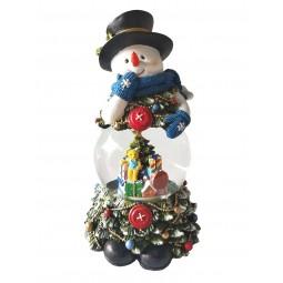 Schneemann Schneekugel