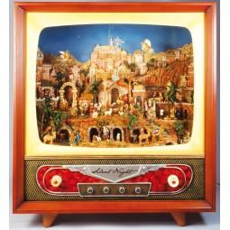 Fernseher groß Krippenszene