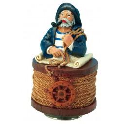 Seemann mit blauem Hut