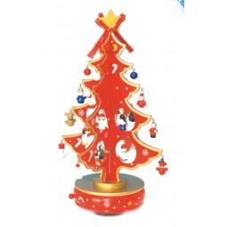 Weihnachtsbaum rot 330 mm
