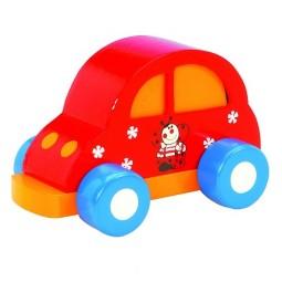 Spieluhr Auto rot