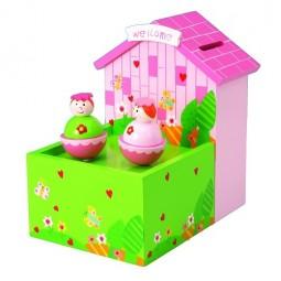 Spieluhr Sparbüchse Mädchen