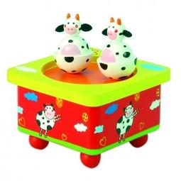 Tanzende Kühe