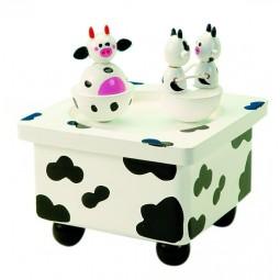 Spieluhr Tanzende Kühe