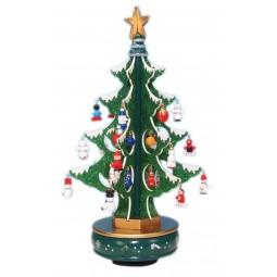6er Baum grün Glitter 320 mm