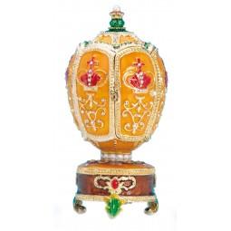 Spieluhr Fabergé-Ei mit Krone