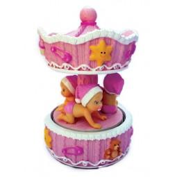 Spieluhr Baby Mädchen Karussell