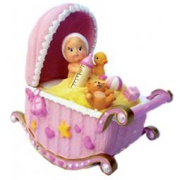 Spieluhr Babies in der Wiege