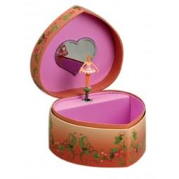 Schmuckherz rosa Ballerina