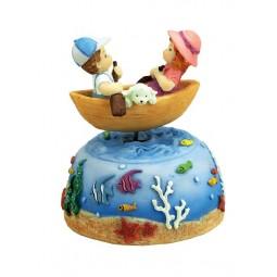 Spieluhr Ruderboot