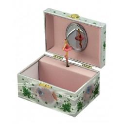 Spieluhr Schmuckbox grüne Fee