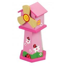 Spieluhr Rosa Windmühle