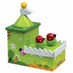 Spieluhr Marienkäfer Sparbüchse