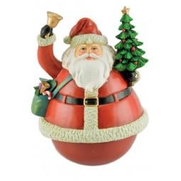 Spieluhr Santa Stehaufmännchen