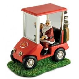 Spieluhr Santa Golfcart