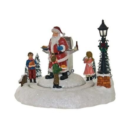 Spieluhr Grill Weihnachtsmann