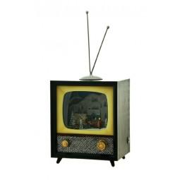 Spieluhr TV mit Schneeszene