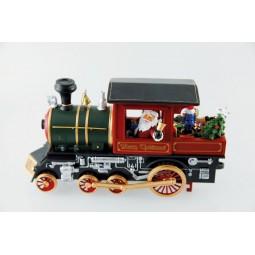 Spieluhr Weihnachts Lokomotive