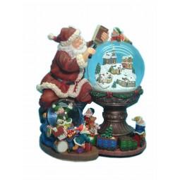 Spieluhr Suchender Santa